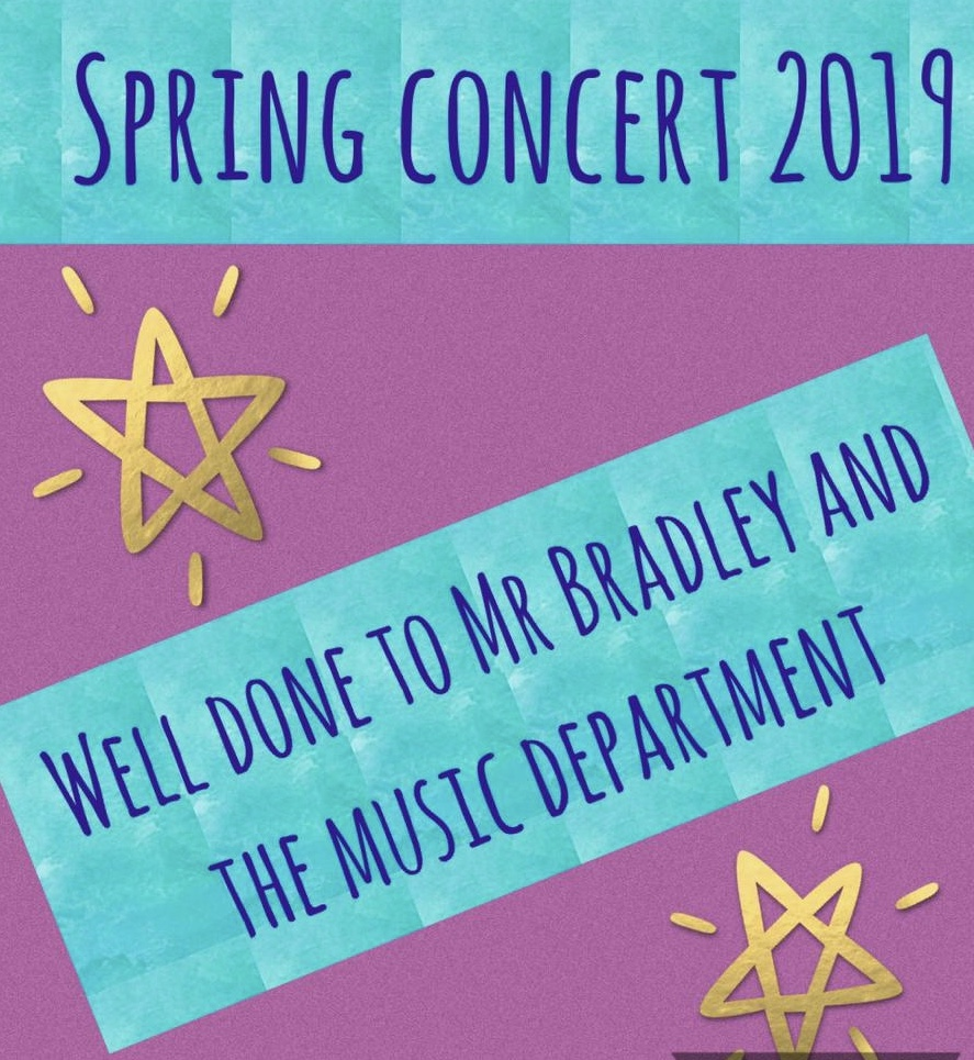 Our Music Department's Spring Concert Was a Resounding Success