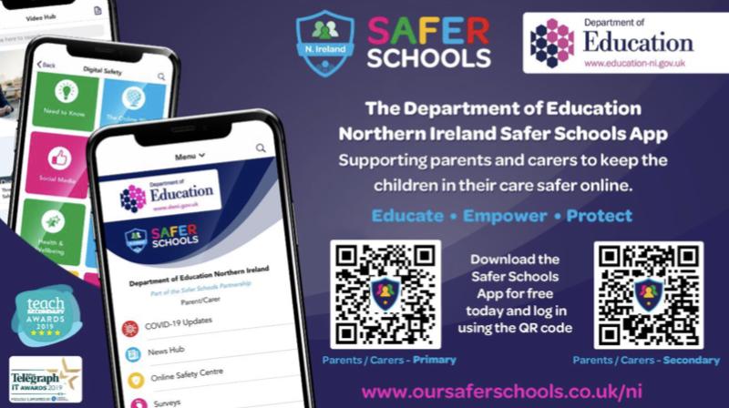 Safer Schools App – Department of Education 10.04.20