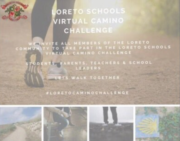 Loreto GS Omagh 'Stepping Up' to the Virtual Camino Challenge